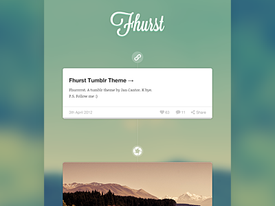 Fhurst tumblr theme small