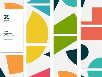 Zendesk Rebrand - Bizness Cards