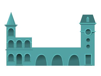 Building series city building vector