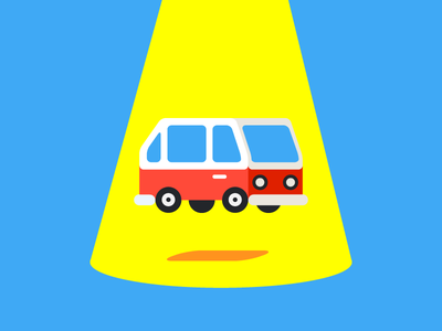 The Flying Van caravan minivan van