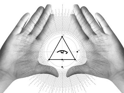 Triangle vector photo mixed