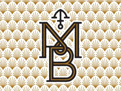 unused MB monogram