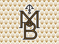 unused MB monogram