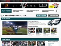 Philadelphia Eagles Team Page