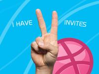 I have 2 Dribbble Invites