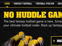 Fantasy Sports Hub Page