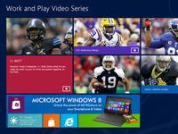 Windows 8 Metro Style Video Microsite