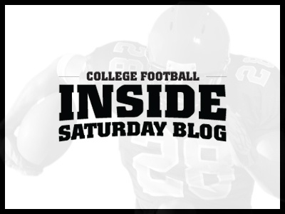 College Football Inside Saturday Blog sports logo college football blog