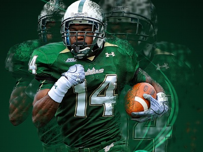 USF Bulls - Dispersion Effect usf bulls college football photoshop effects