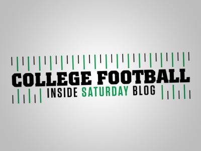 College Football Inside Saturday Blog Logo college football blog logo athlon sports