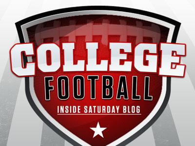 College Football Inside Saturday Blog Logo college football blog shield logo athlon sports