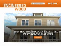 Engineered Wood (LP) Blog Design