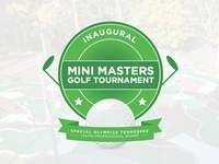 Mini Master Golf Tourney Logo