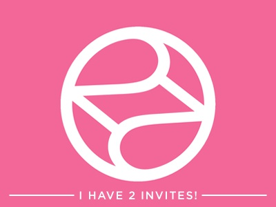 I Had 2 Dribbble Invites! - BOTH ARE GONE NOW dribbble invite 2