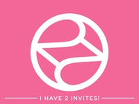 I Had 2 Dribbble Invites! - BOTH ARE GONE NOW