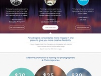 Stock Photo Search Engine Web Design