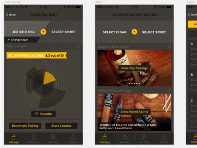 New Mobile App Design  mobile app design ios android ui ux dark sleek modern