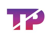 TP Monogram Identity  branding typography logo monogram