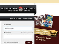 Hershey's College Football Game Mock