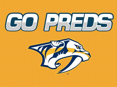 Nashville Predators Sign