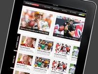 Athlon Sports Ipad App Design
