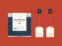 Freemason Tea Co. Packaging