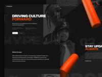Hypebeast Site Concept