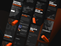 Hybeast Site Concept - Responsive Mobile