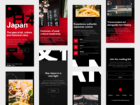 Japan Website - Responsive Mobile