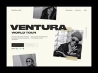 Anderson .Paak Ventura Tour Site Concept
