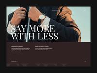 Revel Website Concept WIP