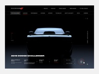 Dodge Challenger Interactive Site