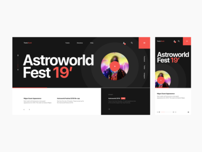 Astroworld Fest Website Pt. 2