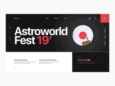 Astroworld Fest Website Pt. 3