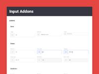 Brandboom input addons guidelines