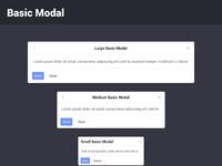 Modals   basic 2x