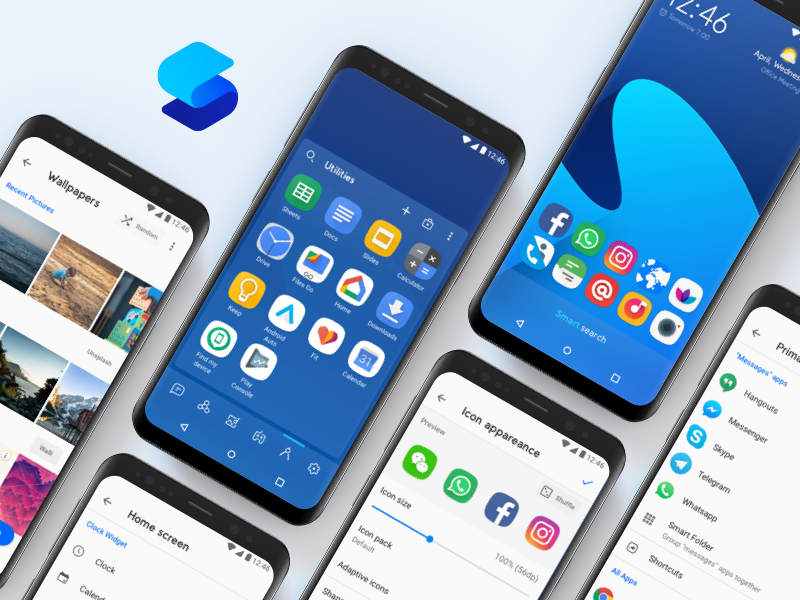 Smart Launcher 5 by Giovanni Piemontese on Dribbble