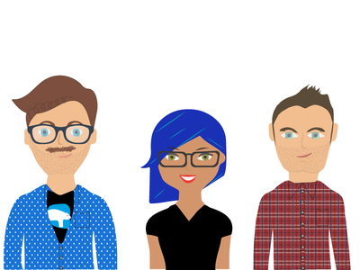 Team Illustration characters drawing team people illustrator illustration