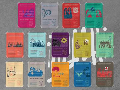 Pop Art Poster Series & Event Website Design design wordpress web event promotions united way art music pop art poster