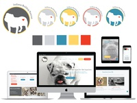 Indiana Bulldog Rescue Brand Identity Development and Web Design