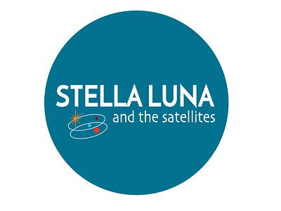 Stella Luna Band  icon branding identity music band logo