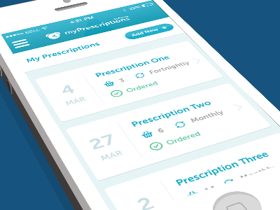 Prescription Reminder App
