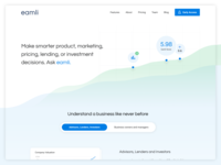 Eamli Homepage principle websites flat website ui ux homepagedesign homepage branding animation design