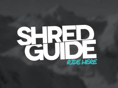 Shred guide logo