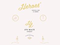 Disney Heroes Bar Branding