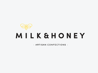 Milk & Honey Primary Logo