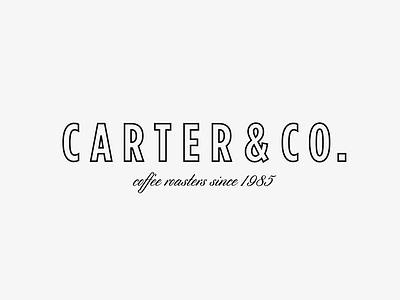 Coffee Roasters Logo logo design concept san serif logo vintage logo coffee logo logotype branding typography logo