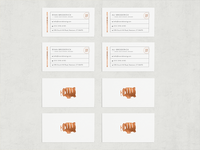 Reverie Brewing Business Cards