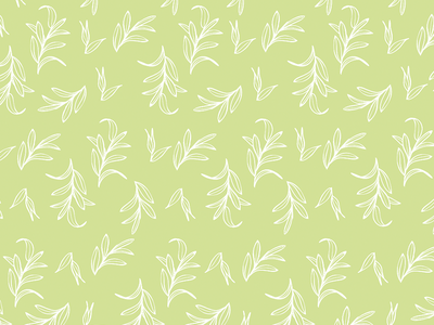 Leaf Pattern leaf illustration seamless pattern procreate ipad pro nature illustration pattern