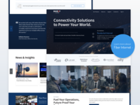 Rocket Fiber Homepage